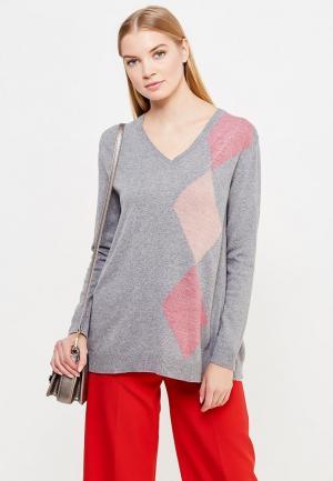 Пуловер Liu Jo Jeans. Цвет: серый