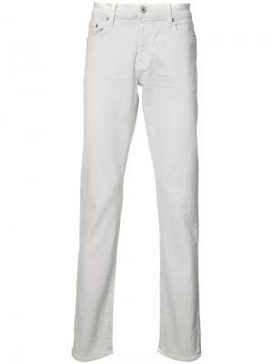 Henley fit jeans Baldwin. Цвет: белый
