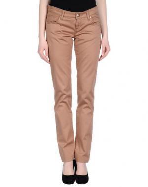 Повседневные брюки SEVEN7. Цвет: верблюжий