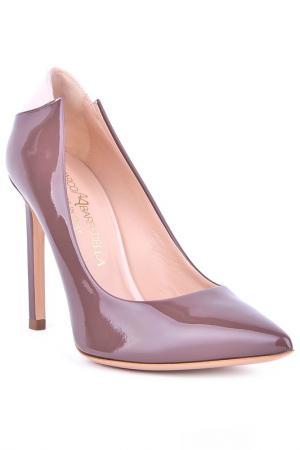 Туфли-лодочки Marco Barbabella. Цвет: коричневый