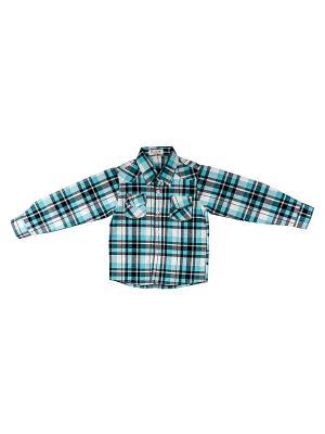 Рубашка DAMY-M. Цвет: синий, белый