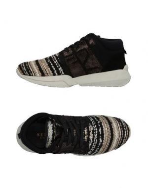 Высокие кеды и кроссовки SERAFINI LUXURY. Цвет: черный