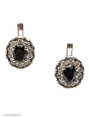 Серьги Lovely Jewelry. Цвет: серебристый