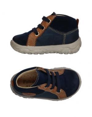 Низкие кеды и кроссовки FALCOTTO by NATURINO. Цвет: темно-синий