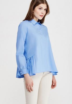 Блуза Ruxara. Цвет: голубой