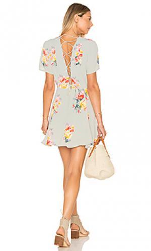 Платье henson Privacy Please. Цвет: мята