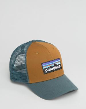 Patagonia Кепка с логотипом. Цвет: коричневый