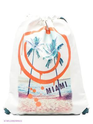 Рюкзак ACOOLA. Цвет: белый, оранжевый