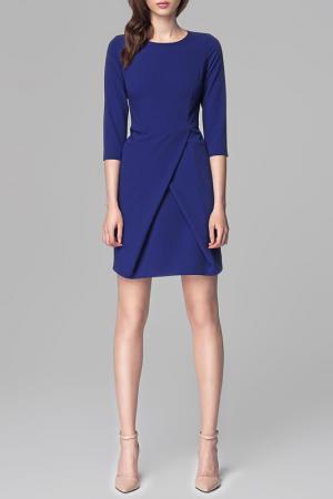 Платье MISEBLA. Цвет: синий