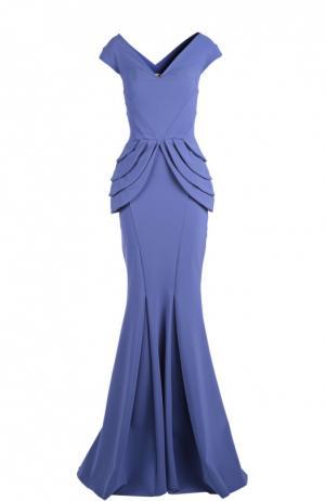 Вечернее платье La Petite Robe Di Chiara Boni. Цвет: голубой
