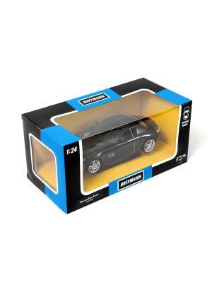 Машина металлическая Mercedes-Benz SLS AMG 1:24. HOFFMANN. Цвет: черный
