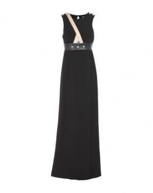 Длинное платье ANNARITA N.. Цвет: черный