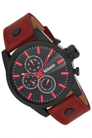 Часы Sebago. Цвет: черный