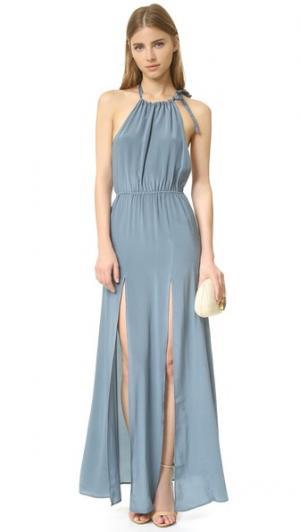 Вечернее платье Onyx Stone Cold Fox. Цвет: голубой
