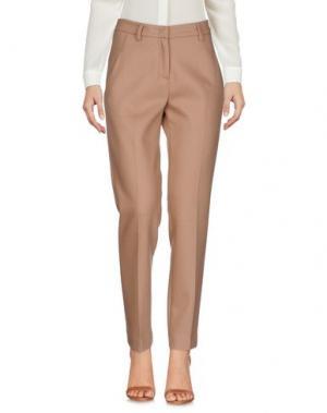 Повседневные брюки MALO. Цвет: коричневый