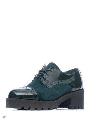 Ботинки ESTELLA. Цвет: зеленый, темно-зеленый