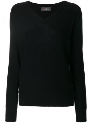 V-neck pullover Jo No Fui. Цвет: чёрный
