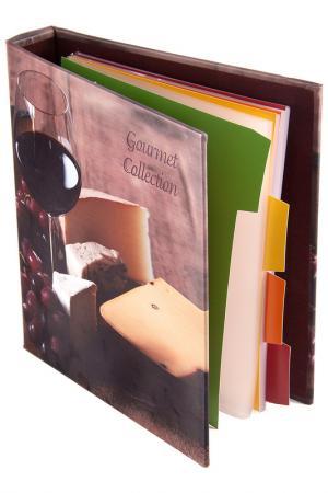 Книга для записи 18х23х4см Русские подарки. Цвет: сиреневый