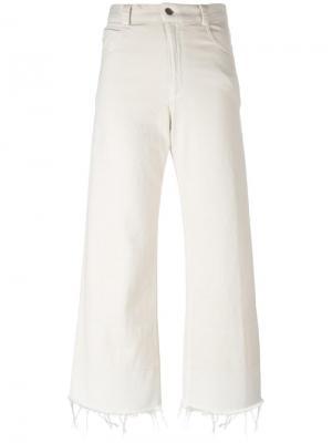 Укороченные джинсы Legion Rachel Comey. Цвет: телесный