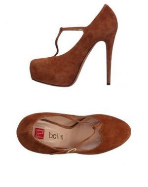 Туфли BALLIN. Цвет: коричневый