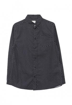 Рубашка Button Blue. Цвет: черный