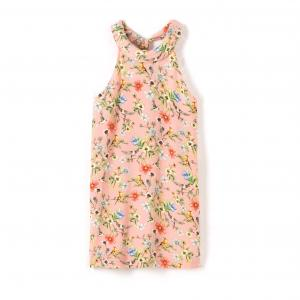 Платье прямое без рукавов с цветочным рисунком MOLLY BRACKEN. Цвет: наб. рисунок/ розовый