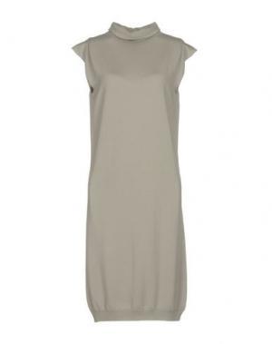 Платье до колена SHI 4. Цвет: серый