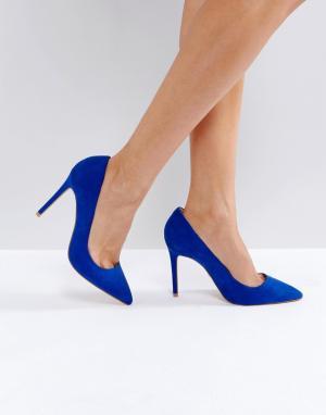 Faith Туфли-лодочки с острым носком Chloe. Цвет: синий