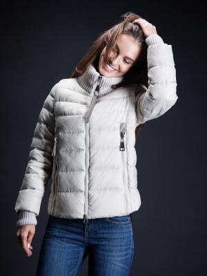 Куртка Clasna. Цвет: бежевый