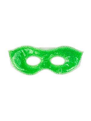 Гелевая маска для лица с эффектом нагревания/охлаждения Spa belle. Цвет: зеленый