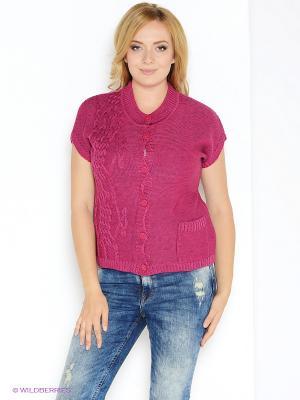 Жилет Milana Style. Цвет: бордовый
