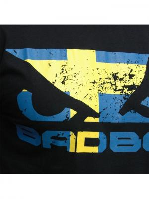 Футболка Bad Boy Sweden Walk in Tee. Цвет: черный