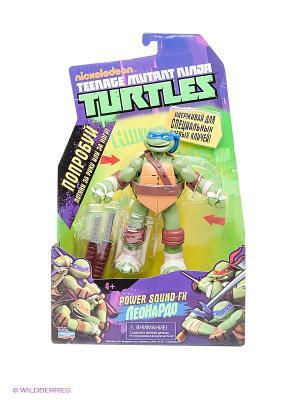 Фигурка Черепашка-ниндзя Леонардо Playmates toys. Цвет: зеленый