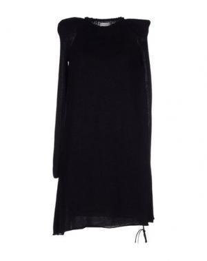 Короткое платье MANOSTORTI. Цвет: черный