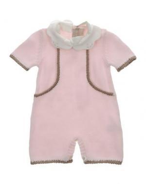 Детский комбинезон LA STUPENDERIA. Цвет: розовый