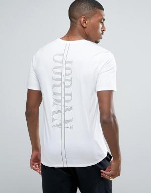 Jordan Белая футболка с карманом Nike Pure Money 850419-100. Цвет: белый