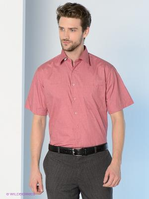 Рубашка Maestro. Цвет: бордовый