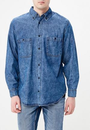 Рубашка джинсовая Cheap Monday. Цвет: синий