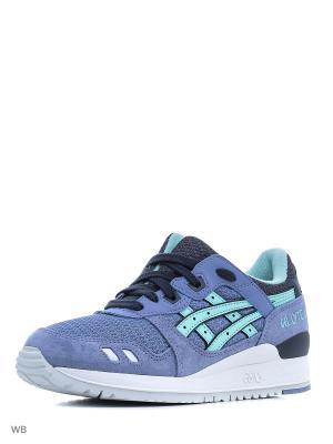Спортивная обувь GEL-LYTE III ASICSTIGER. Цвет: голубой, серый