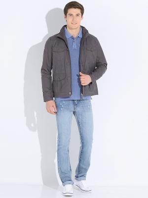 Куртка мужская VON DUTCH. Цвет: серый