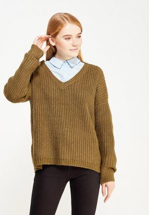 Пуловер Vero Moda. Цвет: хаки