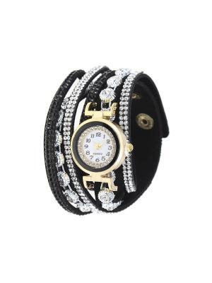 Браслет-часы Olere. Цвет: золотистый, серебристый, черный
