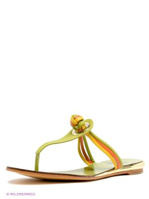 Пантолеты Betsy. Цвет: оливковый