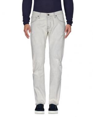 Джинсовые брюки 2 MEN. Цвет: синий