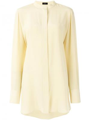 Длинная рубашка-туника Joseph. Цвет: жёлтый и оранжевый