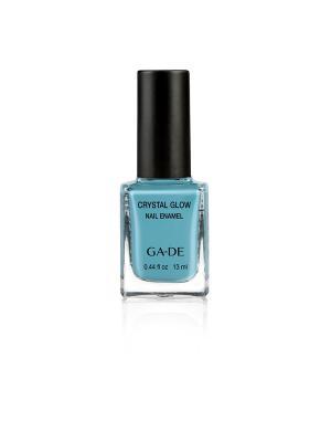 Лак для ногтей №.504 EGG BLUE GA-DE. Цвет: бирюзовый, голубой