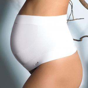 Бандаж поддерживающий для периода беременности Bio Signature CACHE COEUR. Цвет: экрю