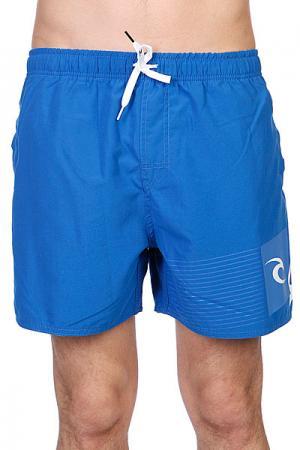 Шорты пляжные  Aggrobrash 16 Blue Rip Curl. Цвет: синий