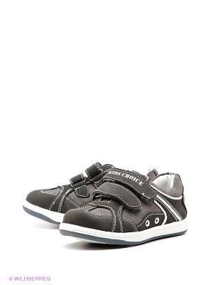 Ботинки ТОПОТАМ. Цвет: серый