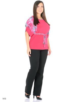 Блузка Фарт Фаворита. Цвет: розовый